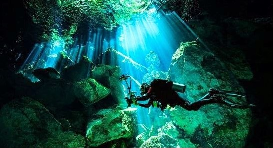 cenote mexico angelita